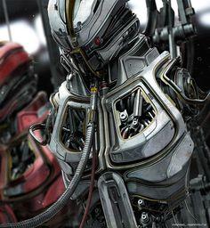 Robots on Behance