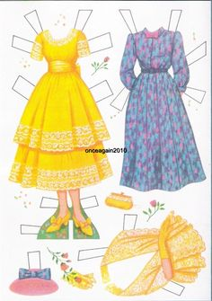"Disney Presents Hayley Mills in ""Summer Magic"" Paper Dolls (9 of 10), 1963 Whitman #1966"