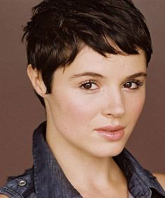 Hairstyles for Thick-Hair Pixie haircuts for thick hair 2017