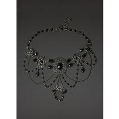Chandelier Chocker Necklace Hot Topic ($14) ❤ liked on Polyvore featuring jewelry, necklaces, chandelier necklace, choker necklace, choker jewelry, chandelier jewelry and silver tone necklace