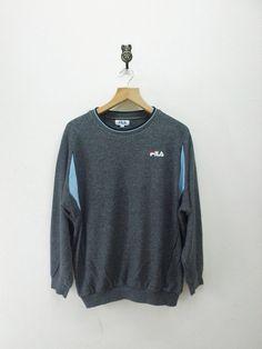 Vintage 90's Fila Casual Sweatshirt Pullover by RetroFlexClothing