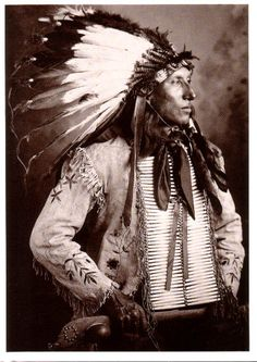 RED HAWK CHETA LUTA SUB CHIEF AND WARRIOR OF THE OGLAL