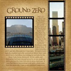 New York City - Ground Zero - Scrapbook.com