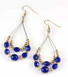 Jewelry Making Idea: Royal Bohemian Earrings