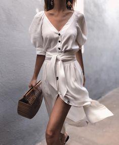 la robe blanche フ