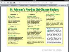 Dr. Joel Fuhrman's Five-Day Diet-Cleanse Recipes- The apple stuffed pepper s