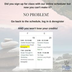 3.3.18  This am @ 9am Dynamic Vinyasa with Jessica & 10:30am Yin Yoga with Jessica  This is a great reminder - if you registered for a class & something came up,  just de-register! No penalties towards your credits!   #yoga #yogastudio #yogastudios #foreveryoganh #yogapractice #getonyourmat #yogaeveryday #yogalove #yogainspiration #milfordnh #namaste #iloveyoga #yogaforlife #instayoga #yogajourney #yogalife #yogaeverydamnday