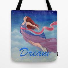 Flying Dream Tote Bag by Lauri Loewenberg - $22.00