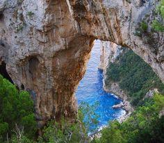 Eye of the Needle - Isle Of Capri, Italy