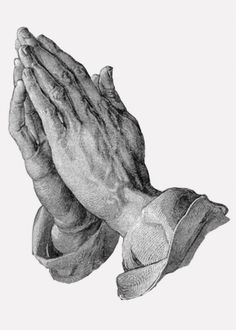 Albrecht Durer - Hands Praying   Albrecht Dürer was a German painter, print maker, and engraver from Nuremberg. His prints established his reputation across Europe when he was still in his twenties, and he has been conventionally regarded as the greatest artist of the Northern Renaissance.