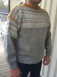 mariusgenser grå - Google Search Fair Isle Knitting, Get Dressed, Knitwear, Men Sweater, Pullover, Vests, Boys, Pattern, Sweaters
