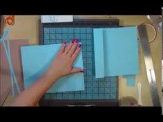 Desktop Flip Style Mini Scrapbook Album Part1