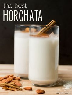 How to Make Authentic, Mexican Horchata | www.noshon.it | #mexican #glutenfree #vegan #drink