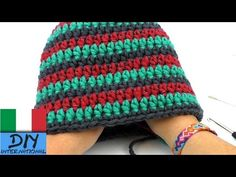 uncinetto tutorial cappello inverno fatto in fretta crochet italiano - YouTube Free Crochet, Knit Crochet, Crochet Hats, Knitting Videos, Easter Crafts, Knitted Hats, Wool, Youtube, Hobby