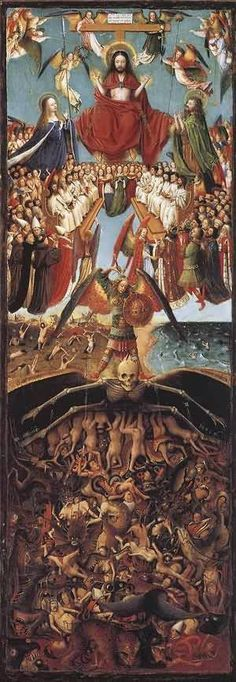Last Judgment by Jan Van Eyck