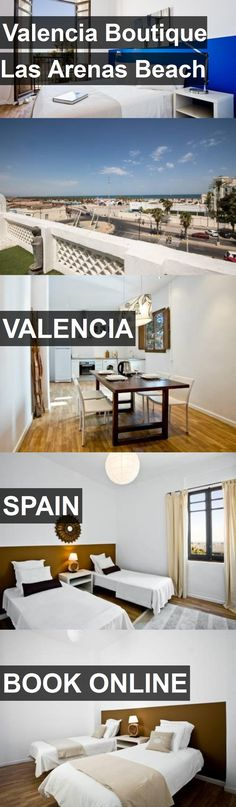 Hotel Valencia Boutique Las Arenas Beach in Valencia, Spain. For more information, photos, reviews and best prices please follow the link. #Spain #Valencia #travel #vacation #hotel