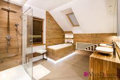 Zdjęcie łazienki (piętro) - zdjęcie od Pracownia Projektowania Wnętrz Viva Design - Łazienka - Styl Nowoczesny - Pracownia Projektowania Wnętrz Viva Design