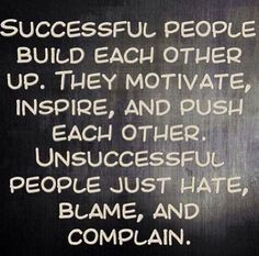 Successful people…