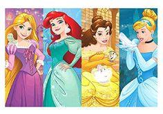 Amscan Disney Princess Dream Big Birthday Party Game 3 Piece Multicolor 37 12 x 24 12