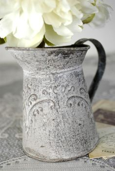 beautiful design on watering can