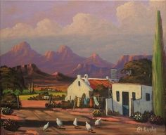 South African Contemporary and Upcoming Artist & Old Masters Art Gallery. Upcoming Artists, South African Artists, Pretoria, Artist Art, Farms, Buildings, Landscapes, Art Gallery, Scene