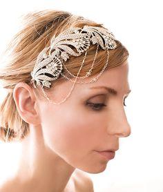 1920s+Gatsby+Bridal+Headband+Flapper+Bridal+by+LottieDaDesigns,+$140.00
