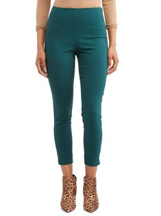 Free 2-day shipping on qualified orders over $35. Buy Time and Tru Women's Millennium Side-Zip Pant at Walmart.com Skinny Sides, Skinny Legs, Skinny Pants, Cara Dune, Knit Pants, Stretch Pants, How To Look Classy, So Little Time, Workout Pants