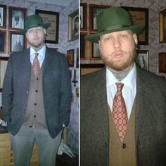 #vintagestyle #menswear #tie #vintagetie #fedora #hat #vintagemenswear #dandy #gentleman #shap  #welldressed