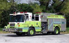 Miami-Dade Fire Rescue Engine 7 2003 Pierce Quantum 1500/750/20F.