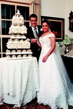 Bolo de casamento: veja 17 ideias criativas dos famosos! Thaís Fersoza e Joaquim Lopes
