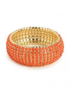 our orange coral cuff! love this + the orange shade is awesome!!