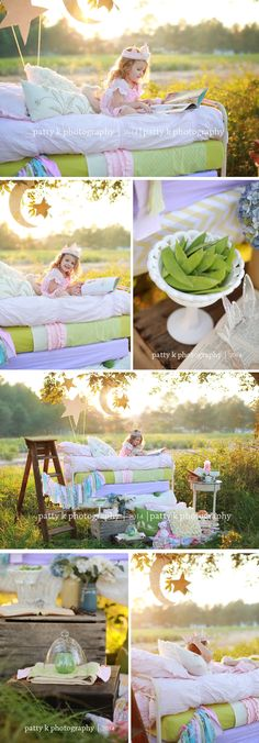 Paisley | Imagination Session | Princess Pea | Raeford, NC Child Photographer | Patty K Photography