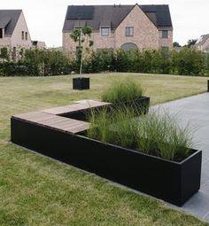 Outdoor Planters, Garden Planters, Farm Gardens, Outdoor Gardens, Garden Edger, Terrace Garden Design, Hanging Plants, Garden Paths, Garden Inspiration