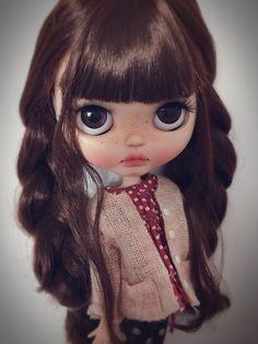 custom Blythe Blythecustom doll by qdsy                                                                                                                                                                                 Más