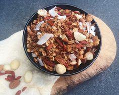 Energizing snack recipes.