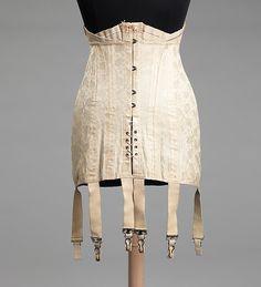 Mme. Lyra Corset Makers | Corset | American | The Met
