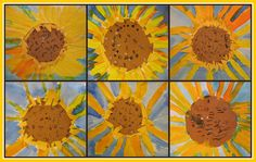 sunflowers | these are giant--18 x 24 and lovely. :) i'm pre… | Flickr