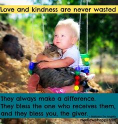 Quotes about love and kindness
