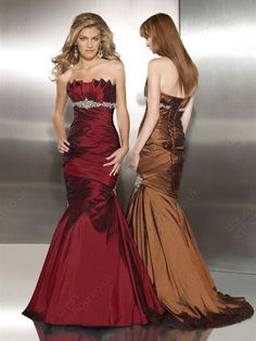 mermaid - not the dresses but the two colors together are lovely