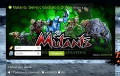 Mutants Genetic Gladiators hack online