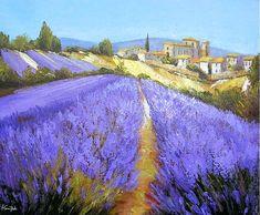 Alpes de Haute Provence. Champ de Lavande à Valensole par Alain Guirado