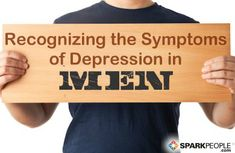 Depression in Men: Why It's Different | via @SparkPeople