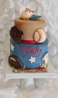 vintage sports cake