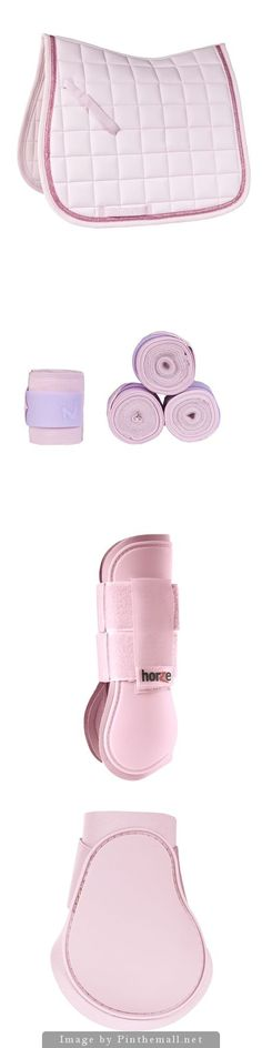 Horze Lilac Set - Horze Sparkle Saddle Pad - Horze Nest Bandages - Horze Tendon…