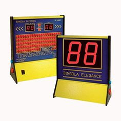ClubKing Ltd Elegance Electronic Bingo Machine - Including Free Tickets Pens Free Tickets, Pens, Electronics, Elegant, Classy, Chic