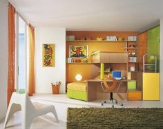 Unisex children's bedroom furniture set LEONARDO Sangiorgio Mobili