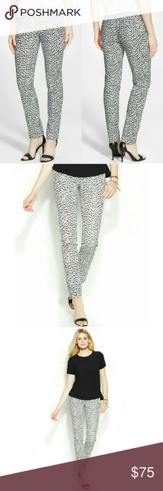 🎉HP🎉 MICHAEL KORS Miranda Leopard Skinny Pants Seeing spots: MICHAEL Michael Kors' leopard-print skinny pants add a bold statement to any outfit. Keep it chic with monochrome accessories.   * Allover animal print  * Skinny fit through hips and thighs. * Skinny leg  * Front zipper fly with hook-and-eye closure; belt loops  * Off-seam pockets at sides; pockets at seat  * Approximate inseam: 29-1/2 inches  * Cotton/elastane. * Machine washable  * Retails for $110 Michael Kors Pants