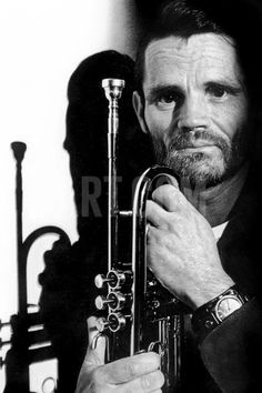 Jazz Trumpet Player Chet Baker (1929-1988) C. 1987 Photo at Art.com