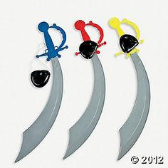 Pirate Swords ~ Oriental Trading