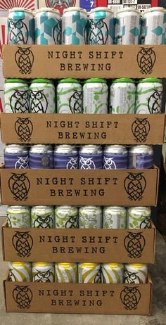 Check out our new arrivals! We are now carrying Night Shift Brewing. Stop in and grab yourself a 4pk today. #Event #Seminar #Wine #Beer #Spirits #Scotch #Whiskey #Tasting #Debucas #DebucasWineandLiquors #Raynham #Massachusetts